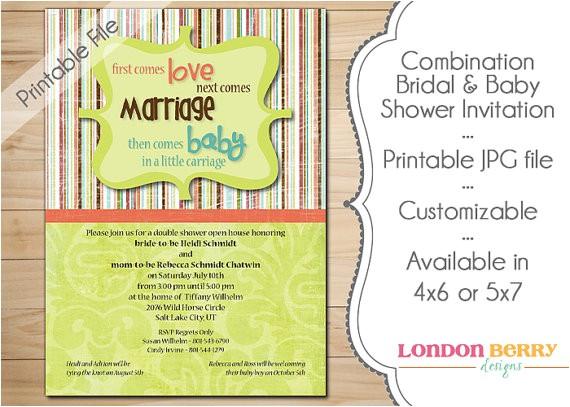 bination bridal baby shower