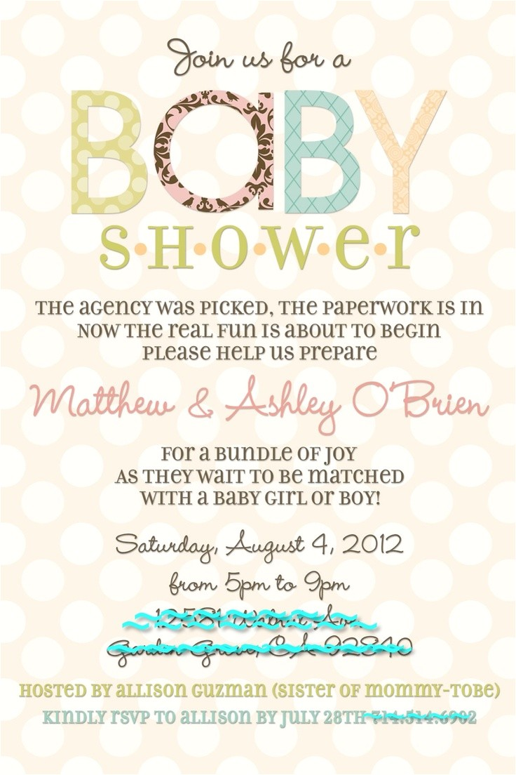 baby birth party invitation
