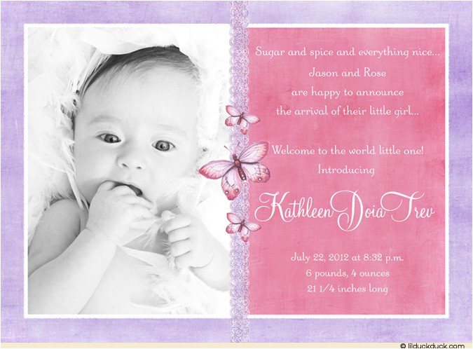 birth announcements wording 83