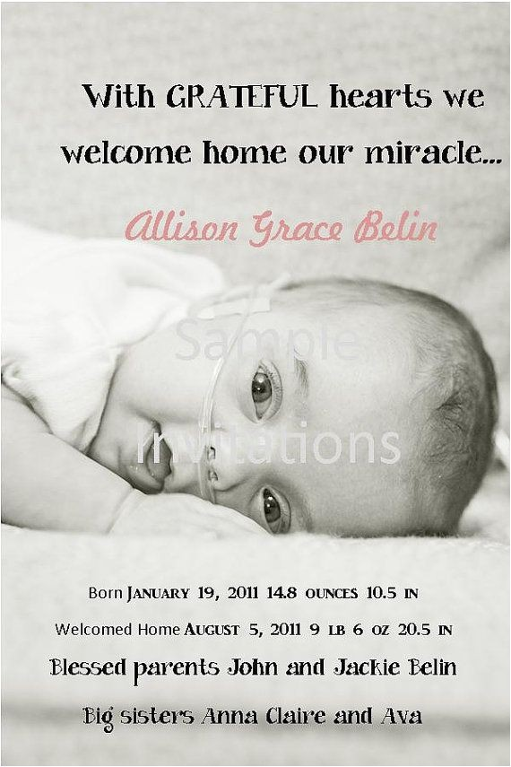 birth announcement wording