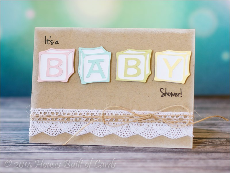 baby block shower invitations