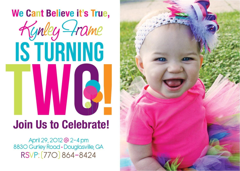 Baby Boy 2nd Birthday Invitation Wording 2nd Birthday Invitations On Pinterest