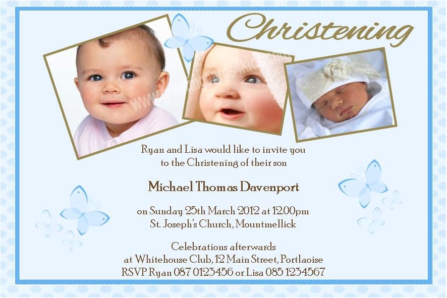 Baby Boy Baptism Invites Baby Boy Baptism Invitations – Gangcraft