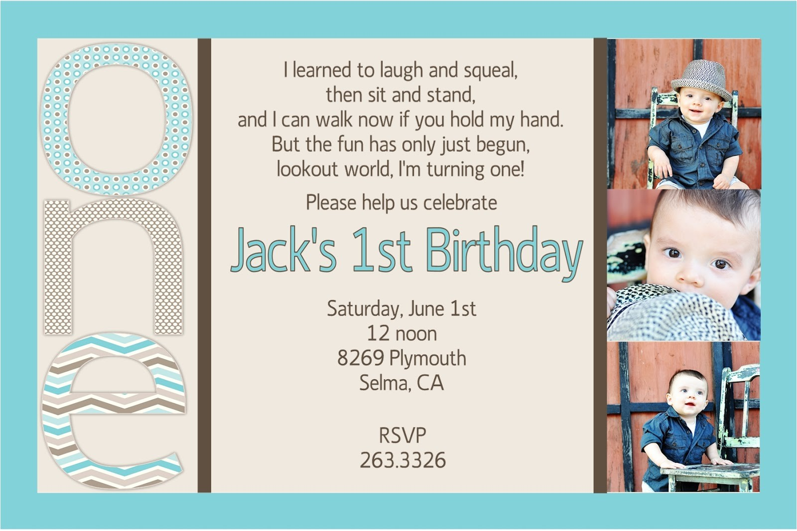 cute first birthday quotes