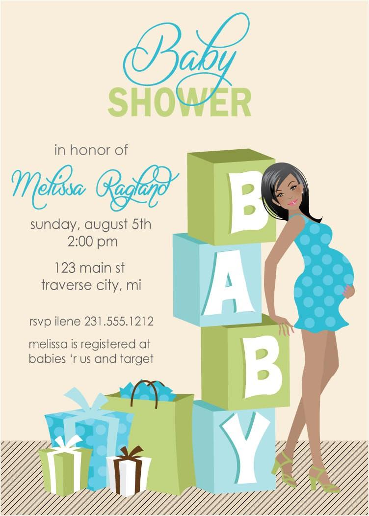 baby boy shower invitations cheap 2
