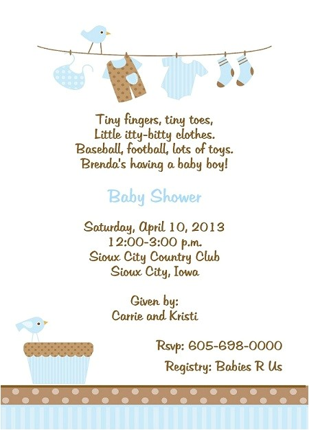cute baby shower invitation wording ideas design