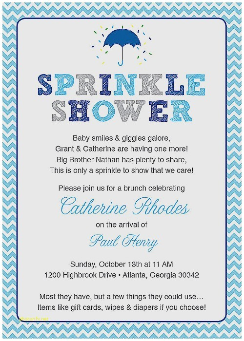 baby shower after baby is born invitation wording