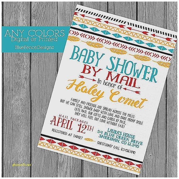 when to mail baby shower invites