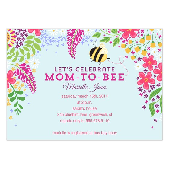mom to bee baby shower