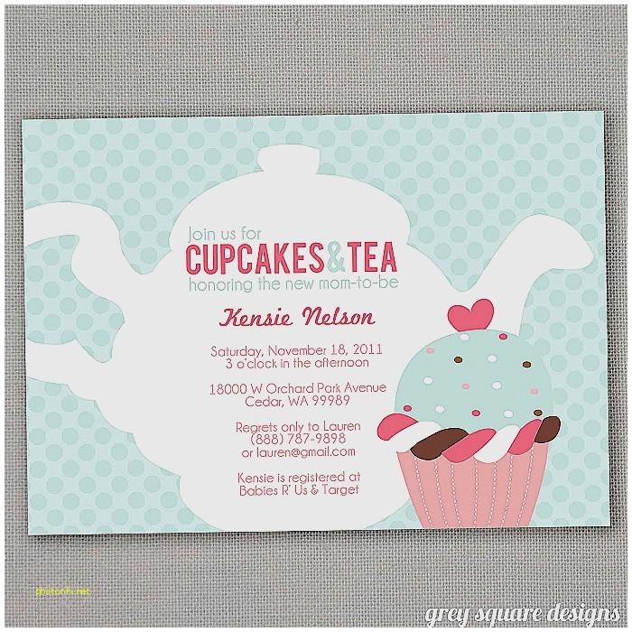 baby shower high tea invitation wording