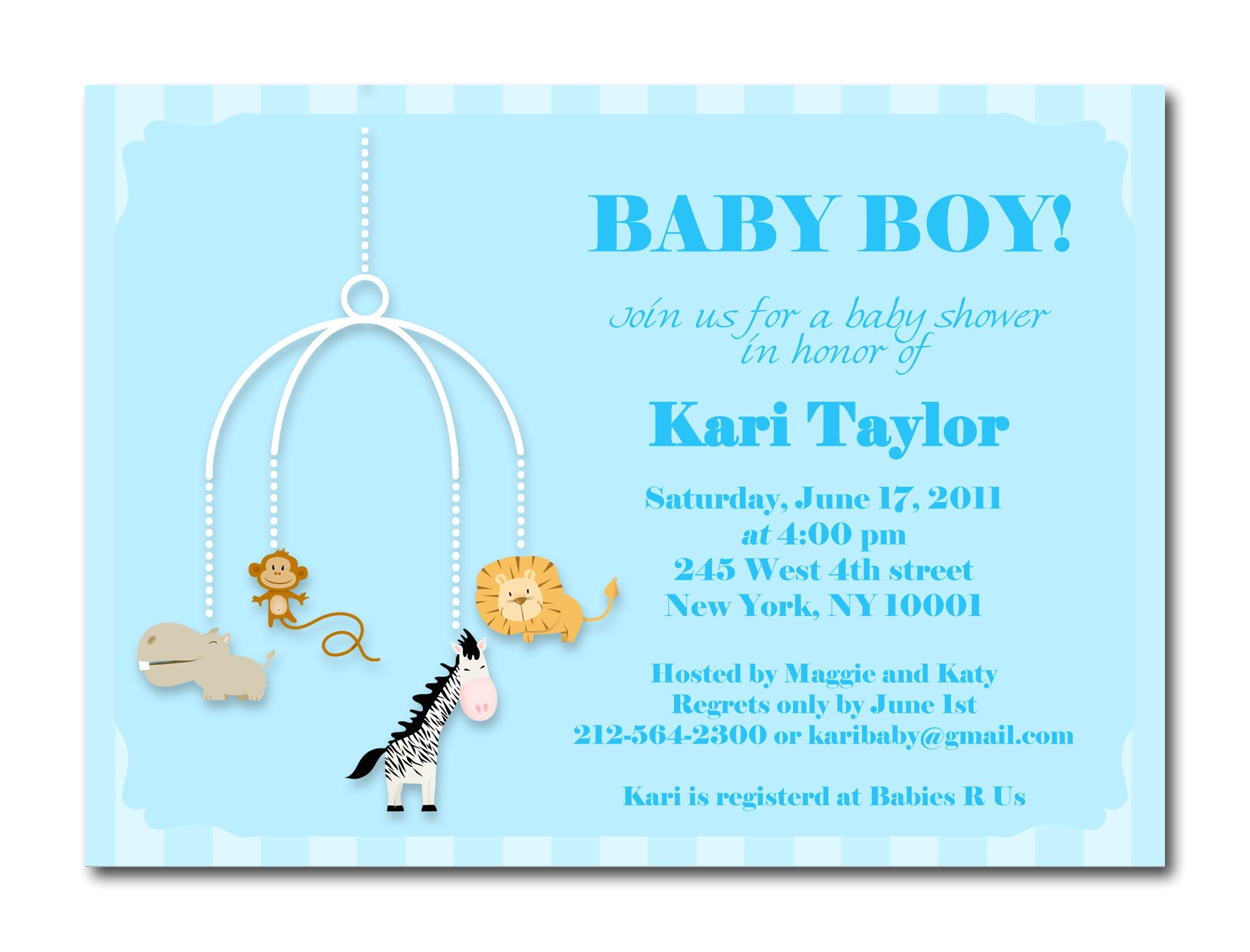 Baby Shower Invitation Details Baby Boy Shower Invites
