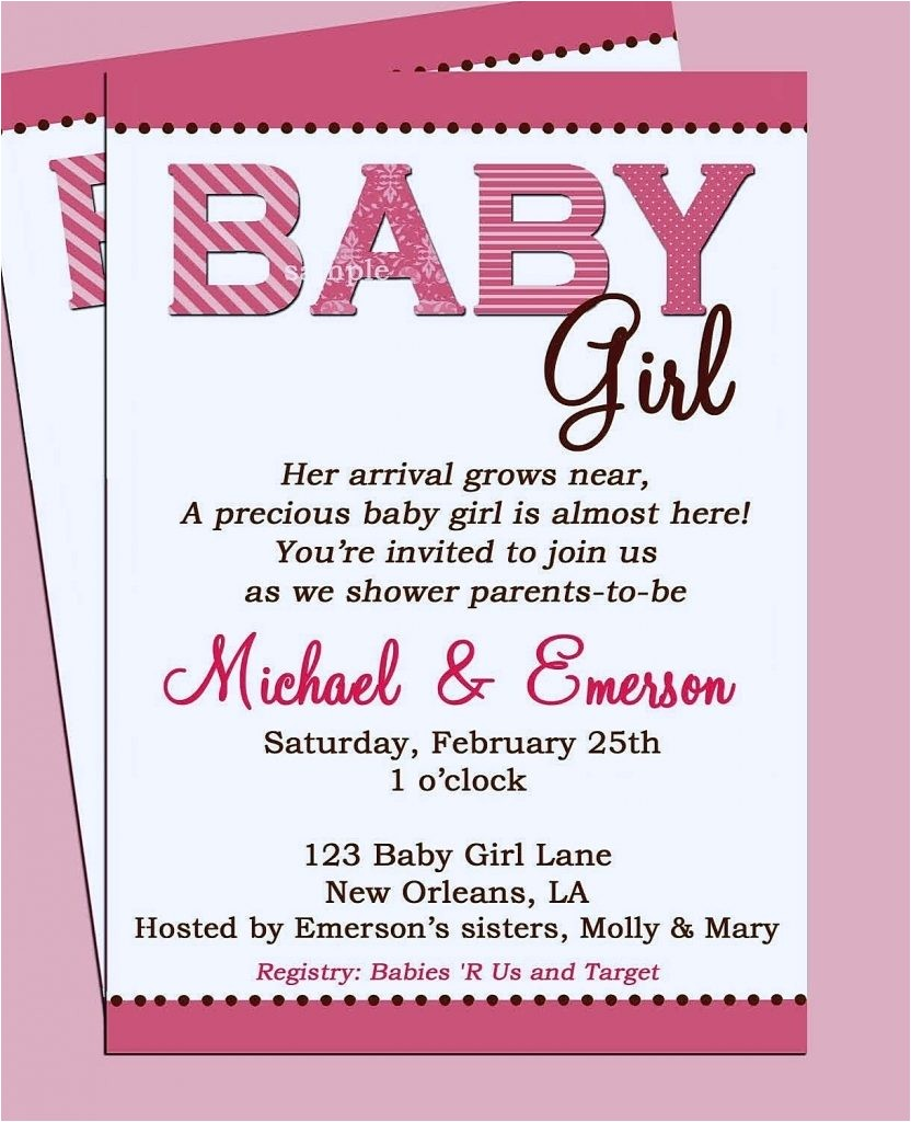baby shower invitation nice t card make your own par