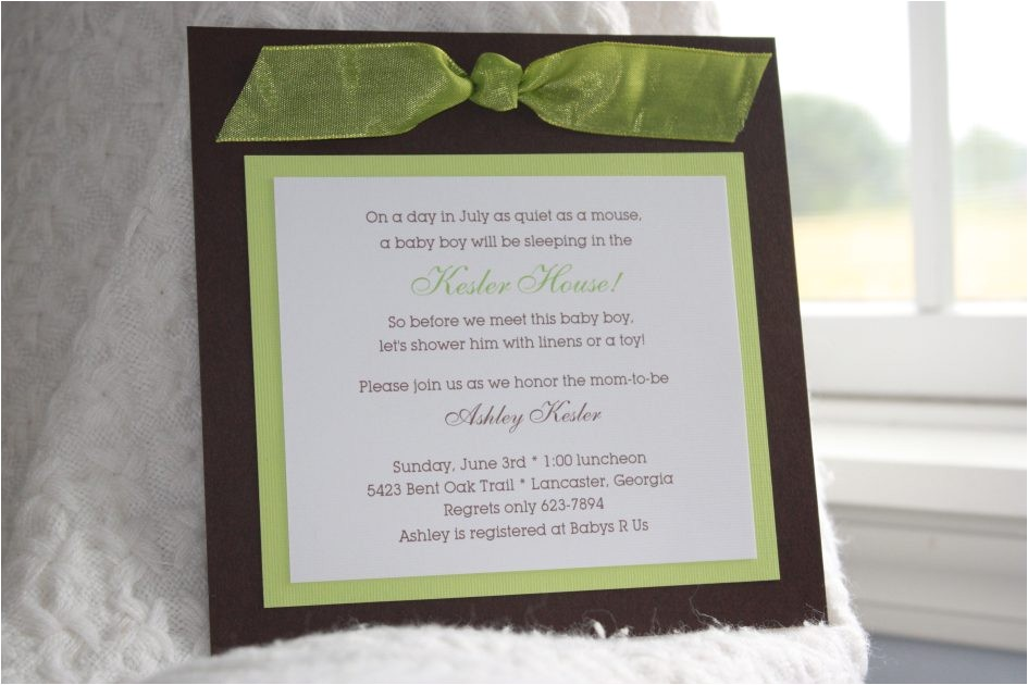 diy baby shower invitation kits