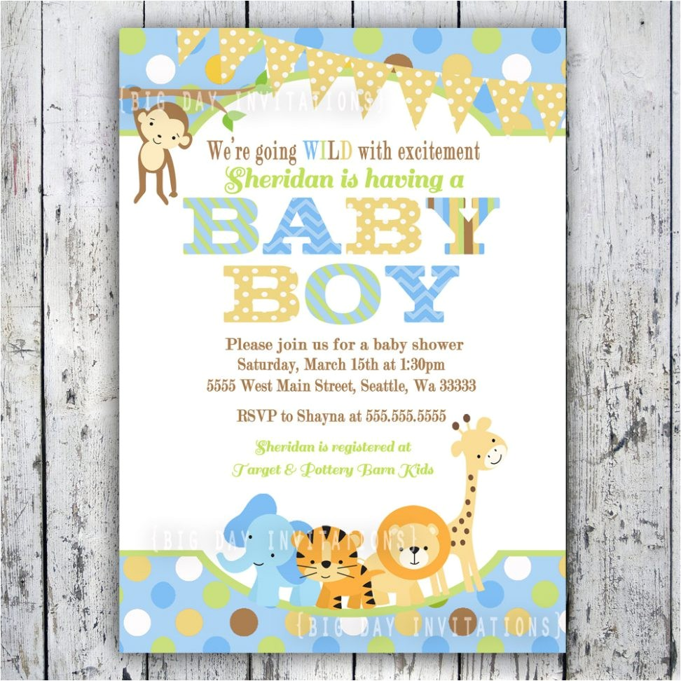 jungle themed baby shower invitations for nice looking baby shower invitation cards invitation card design ornaments creation 12