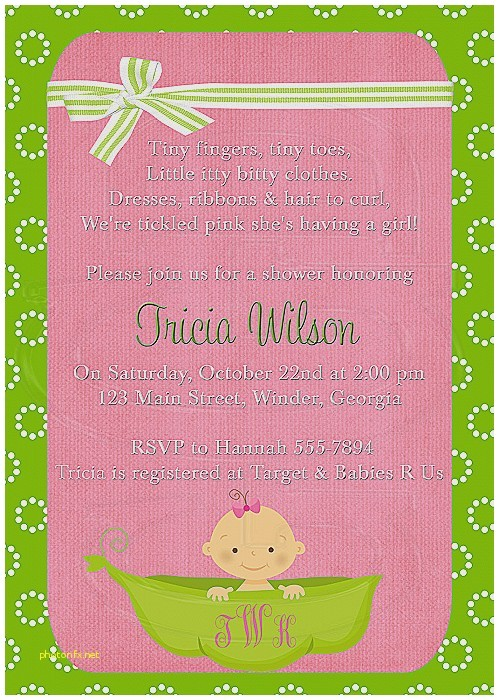 baby shower invitation wording with baby name