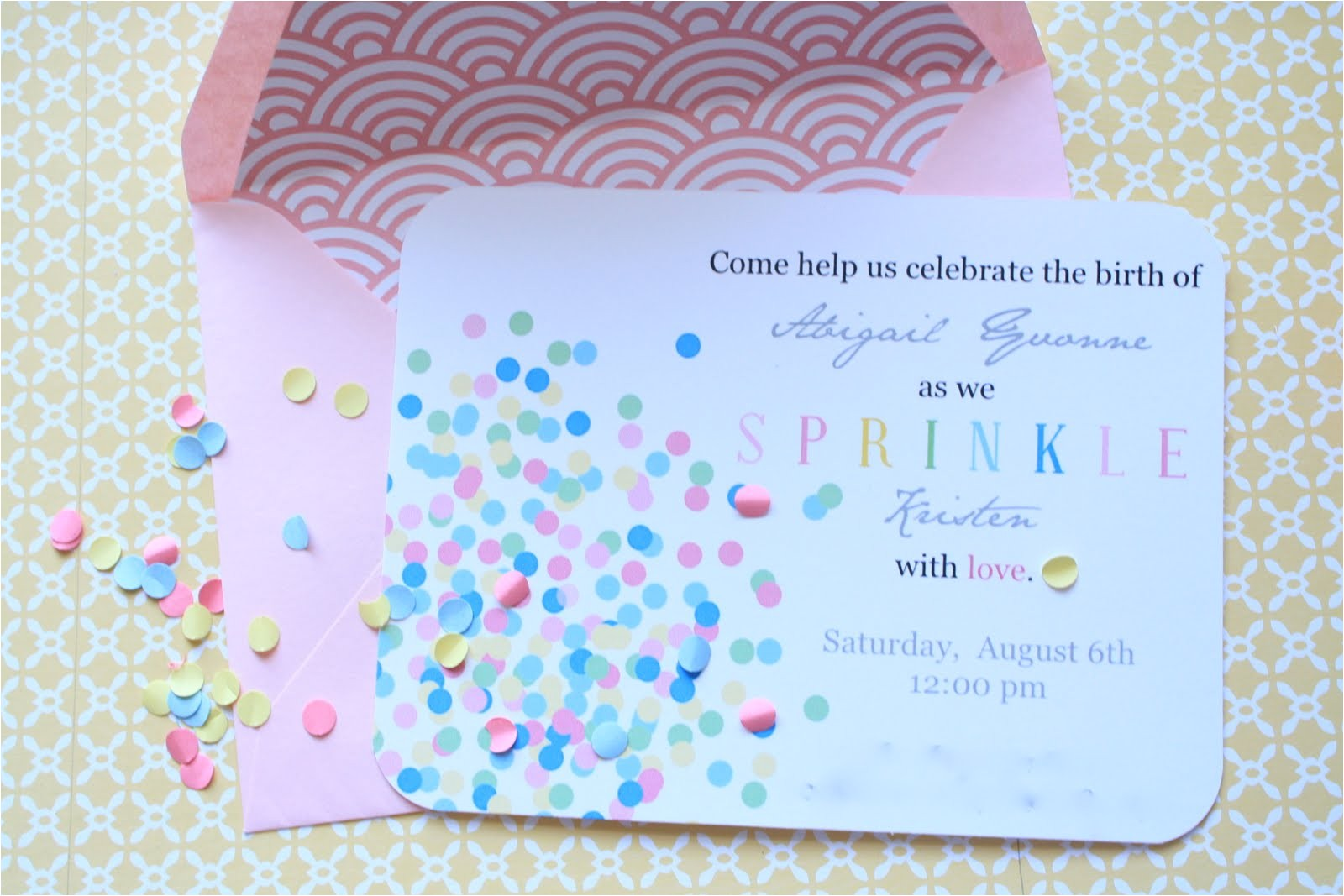 how to make a baby shower invitations