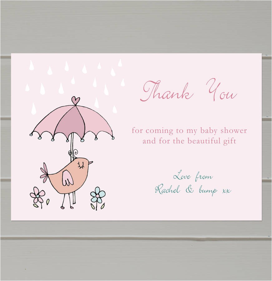Baby Shower Invitations and Thank You Cards Free Baby Shower Thank You Card Templates Ideas — Anouk