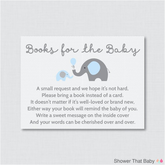 baby shower book instead of card what to write inside