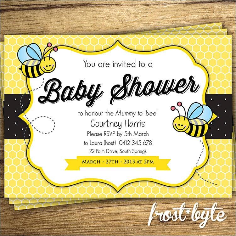bumblebee baby shower ideas