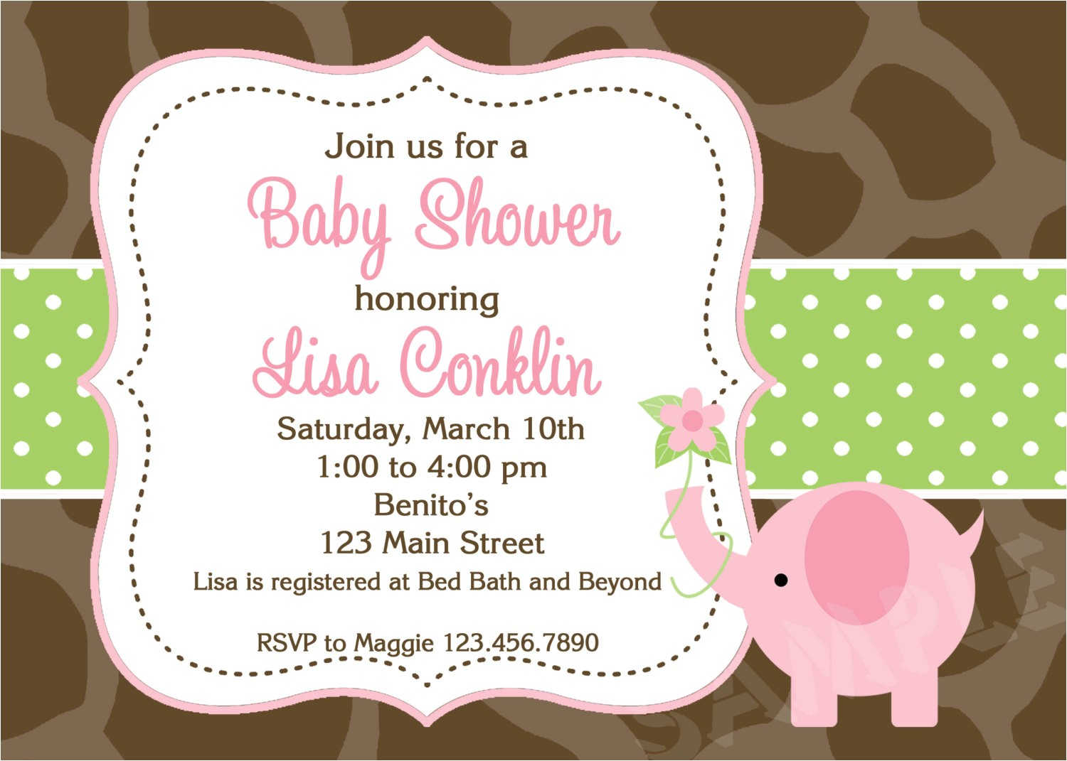 make your own baby shower invitation cards