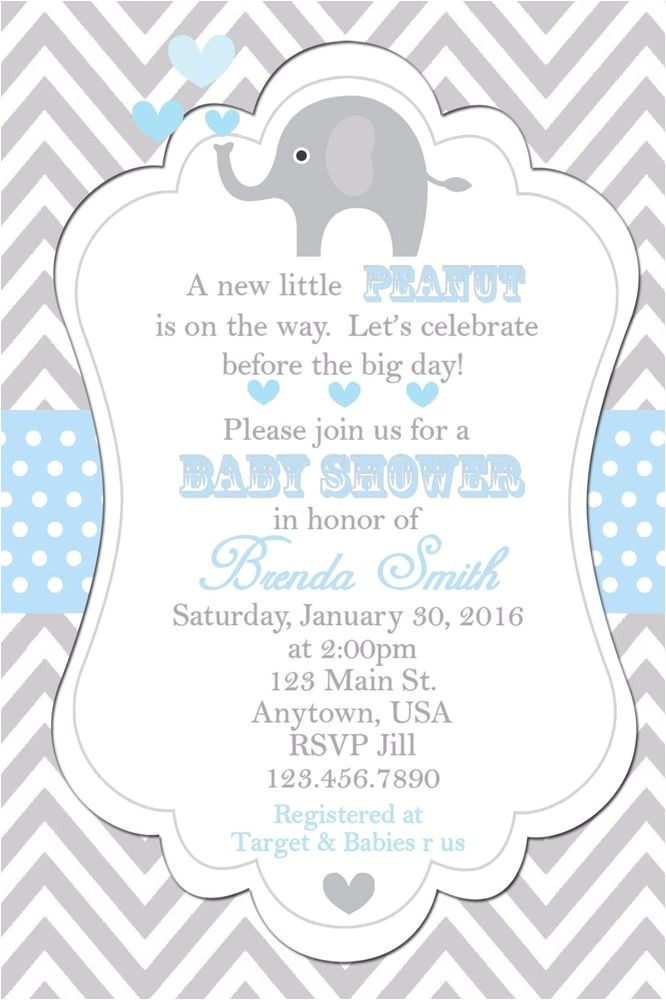 invitations baby showers