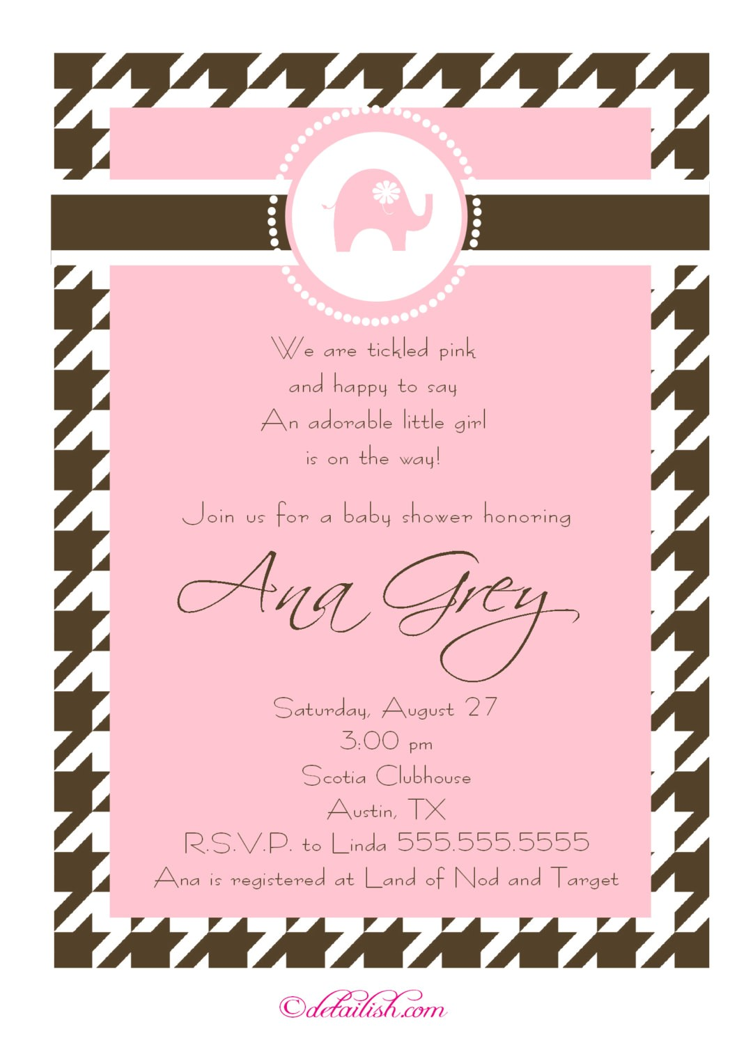 girl baby shower invitations wording