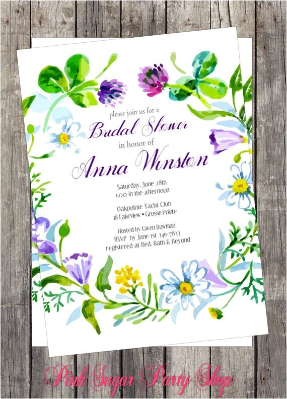 wedding invitations secret garden theme
