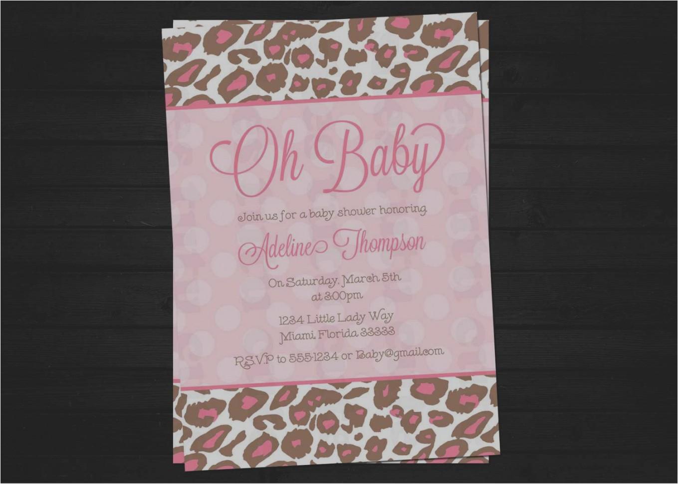 baby shower invitations miami