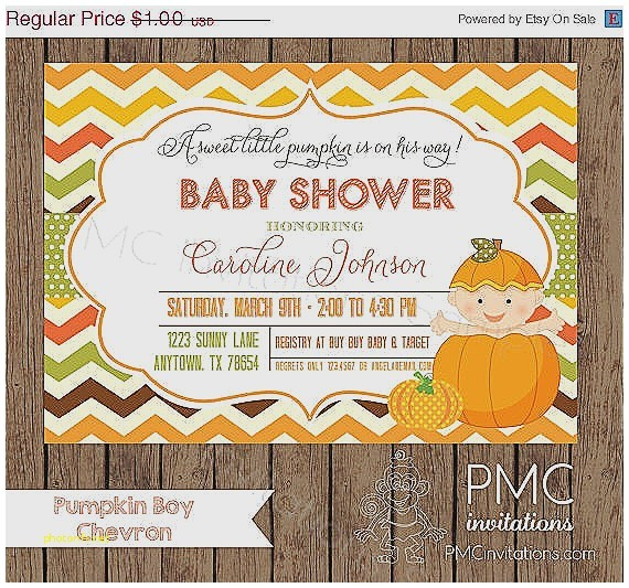 baby shower invitations on sale