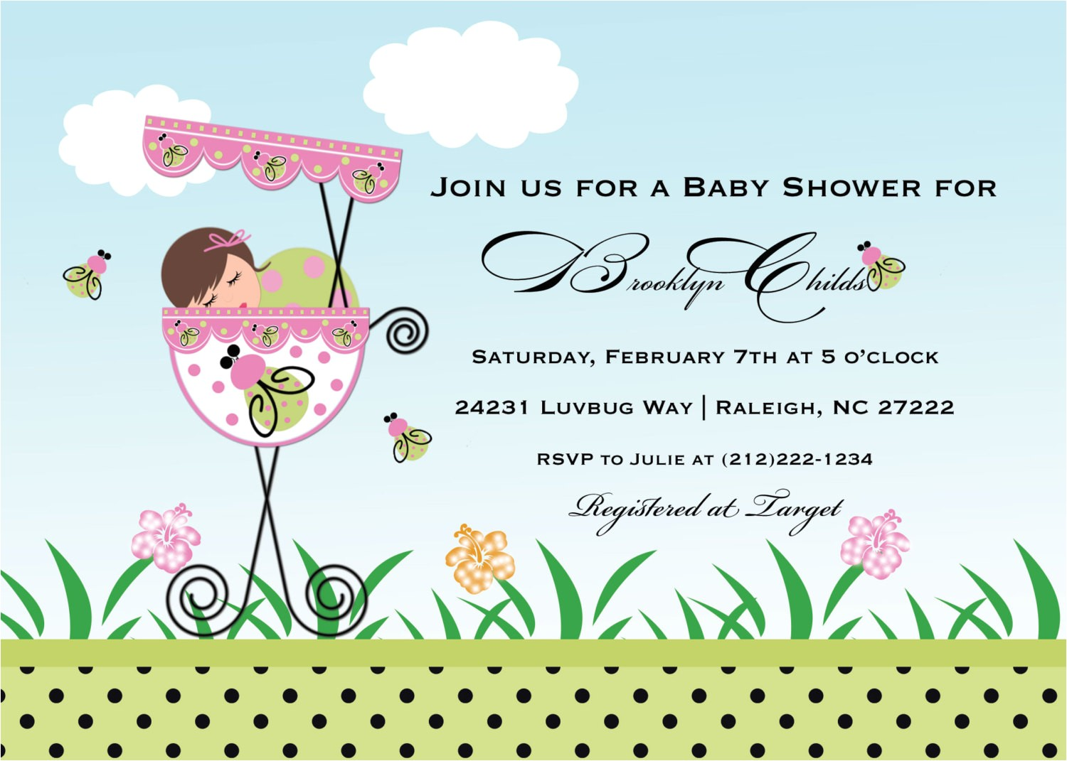 free online baby shower invitations with rsvp