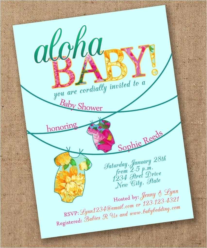 baby shower invitations party city