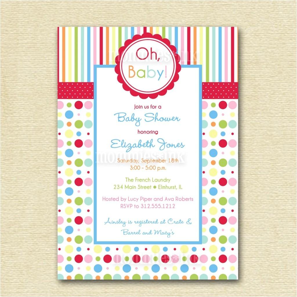 chic walmart baby shower invitations in store