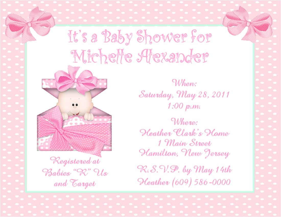 baby shower invitations at tar