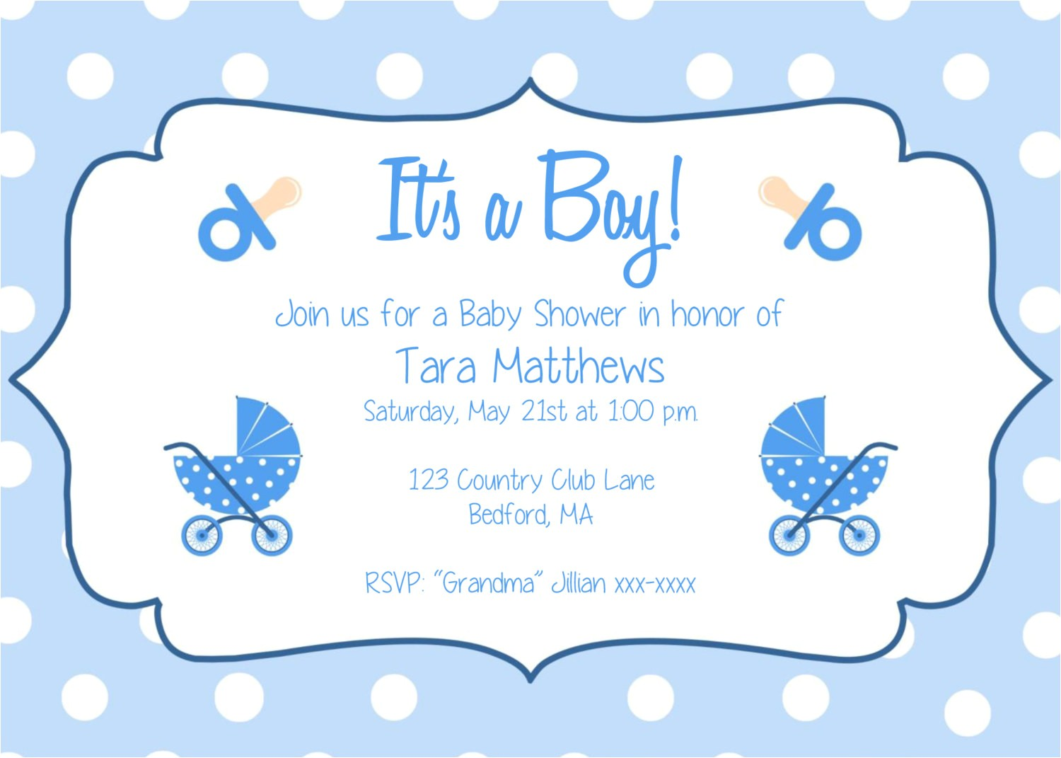 Baby Shower Invitations Templates Editable Boy Baby Boy Birth Announcements Templates