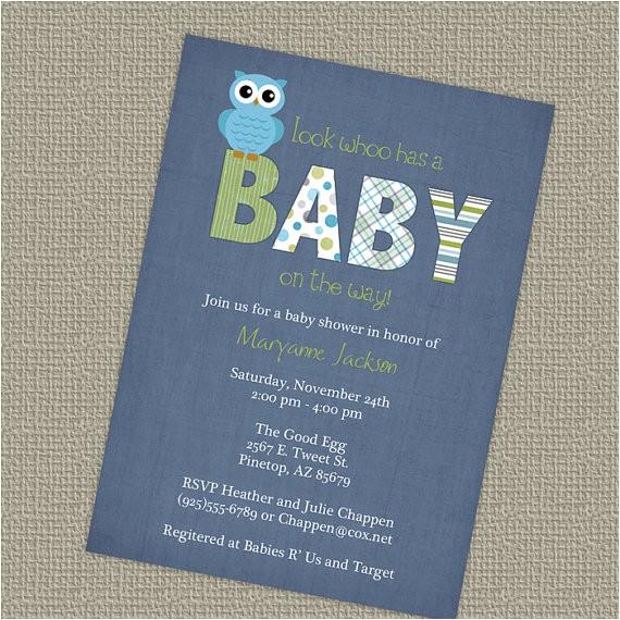 baby shower invitations walmart