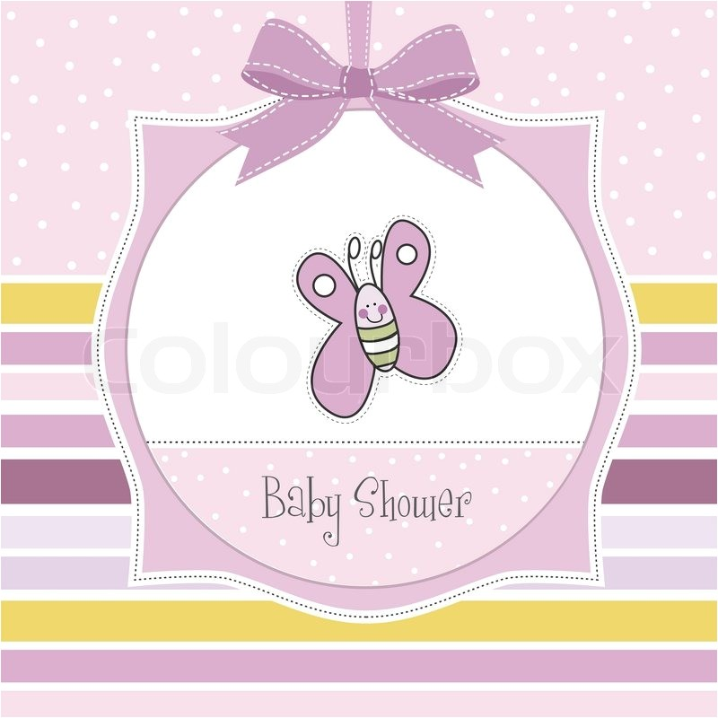 butterfly baby shower invitations girl purple