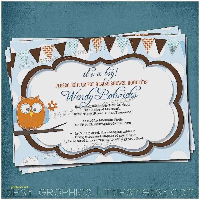 baby shower invitations with diaper raffle wording