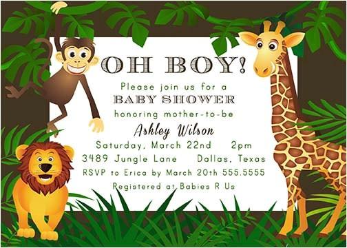 jungle theme zoo animal baby shower