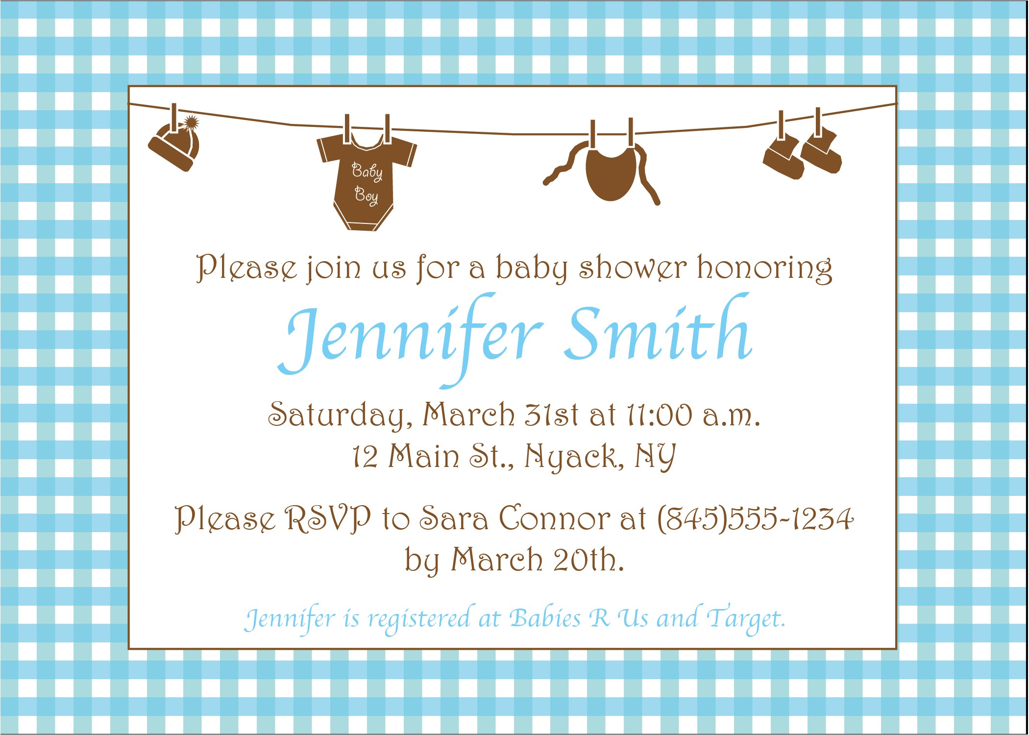 Baby Shower Invite Example Michaels Baby Shower Invitations Template