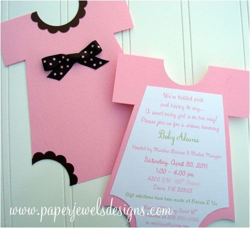 baby shower invitation you can make yourself