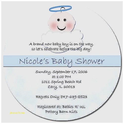baby shower invite language