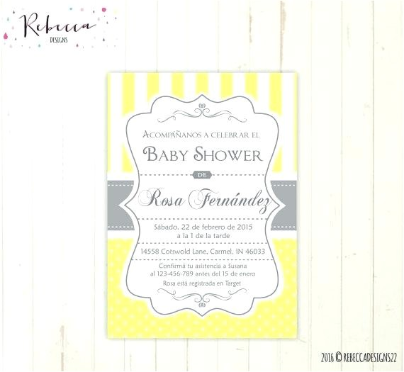 invite in spanish baby shower invitations spanish birthday invite wording