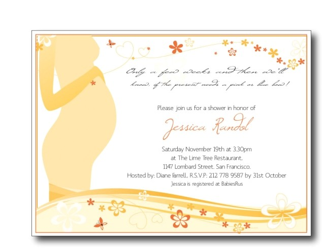baby shower invitation poems girl and boy