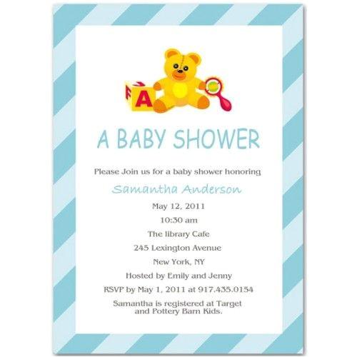 cute baby shower invitation ideas