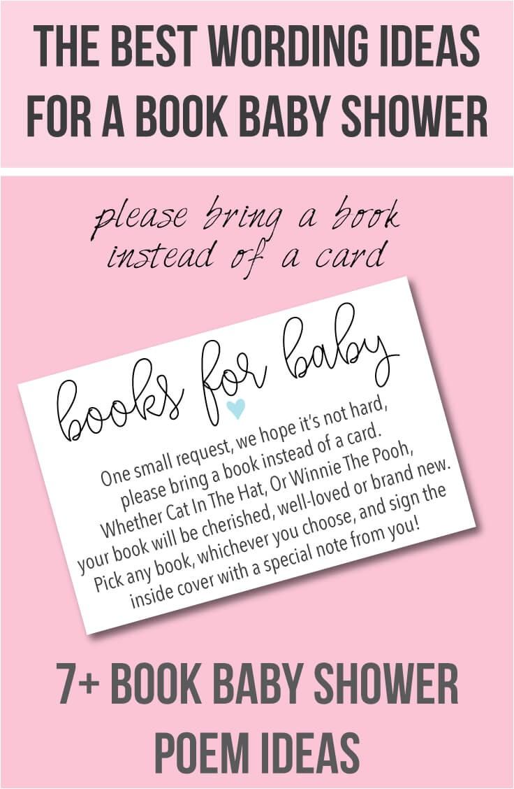 book baby shower invitations