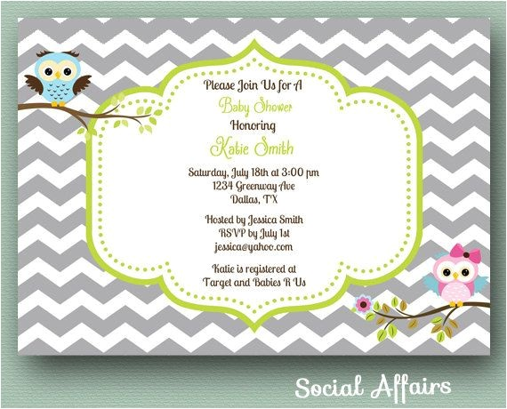 baby shower invitations canada