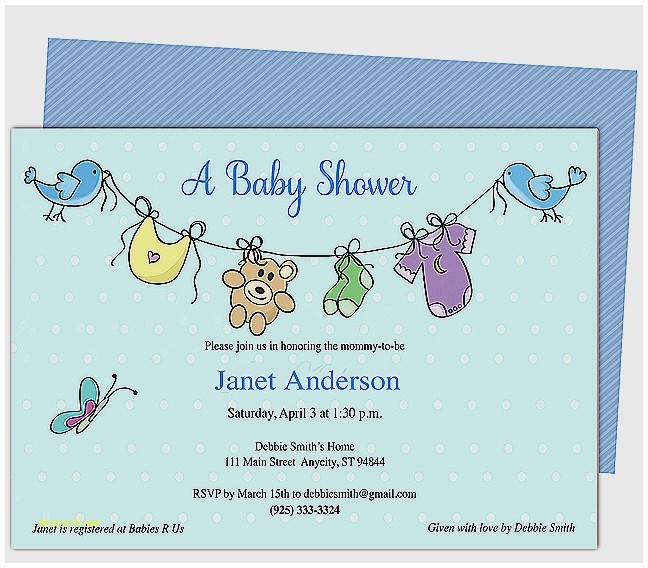 when to send baby shower invites