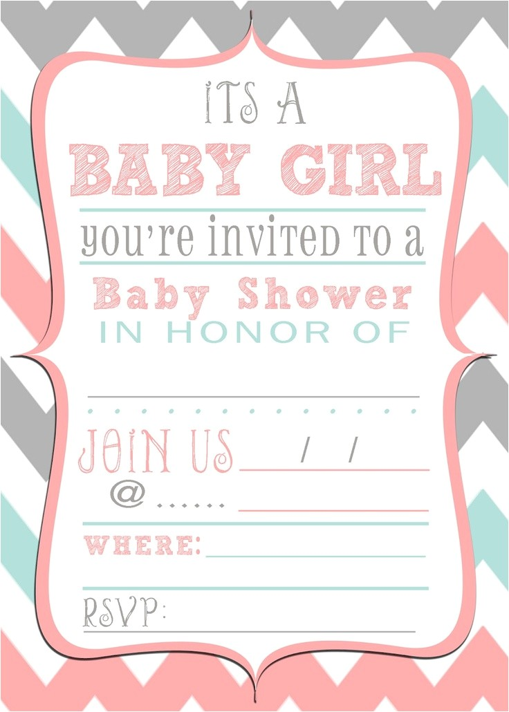 most popular free printable baby shower invitations on this year