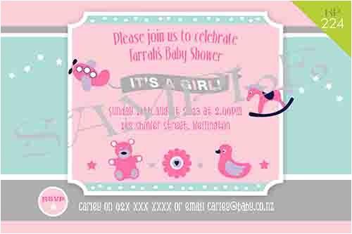 baby shower invites nz