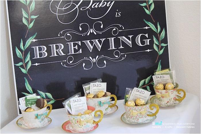 baby shower tea party via karas party ideas karaspartyideas 16